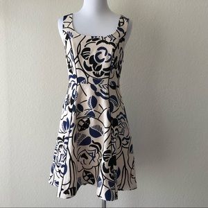 Vanessa Virginia ink set bloom fit flare dress 2P